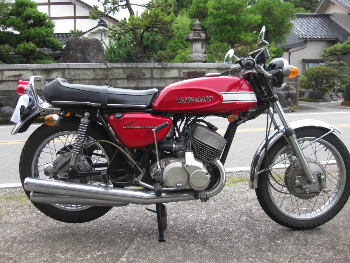 「カワサキ 500SS H1 KAF 車検付き」の画像1