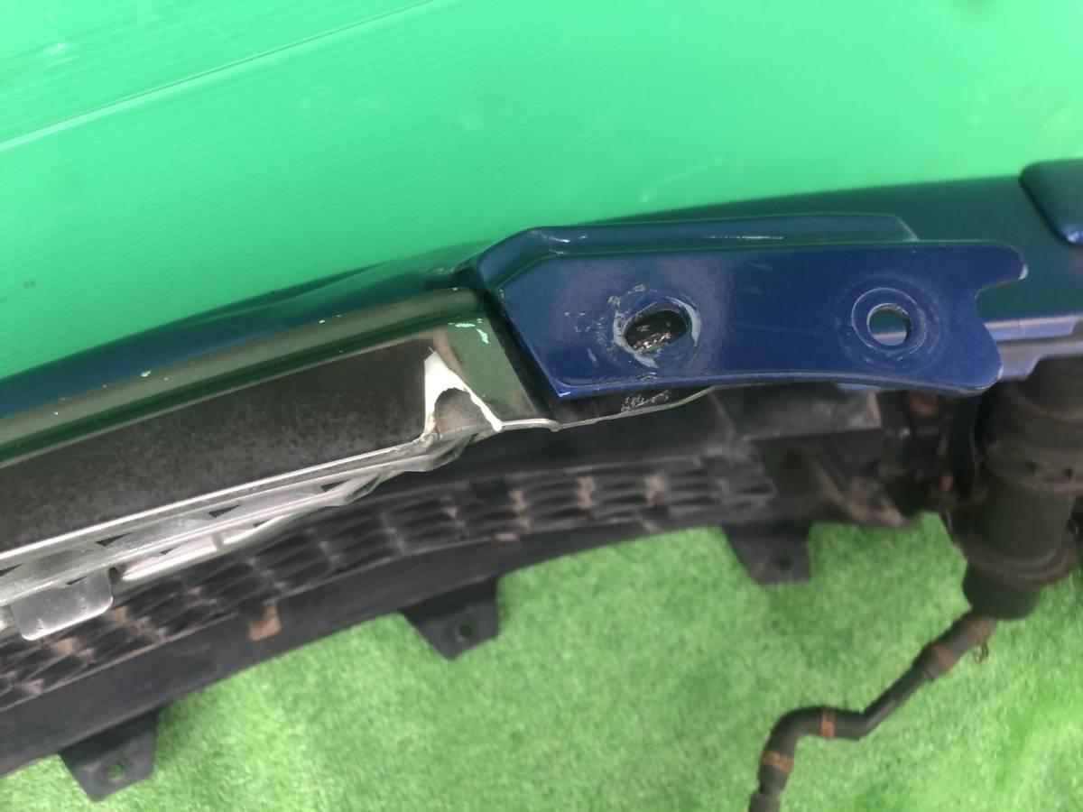 アルテッツァ SXE10 フロント バンパー ブルー 中古.._画像10