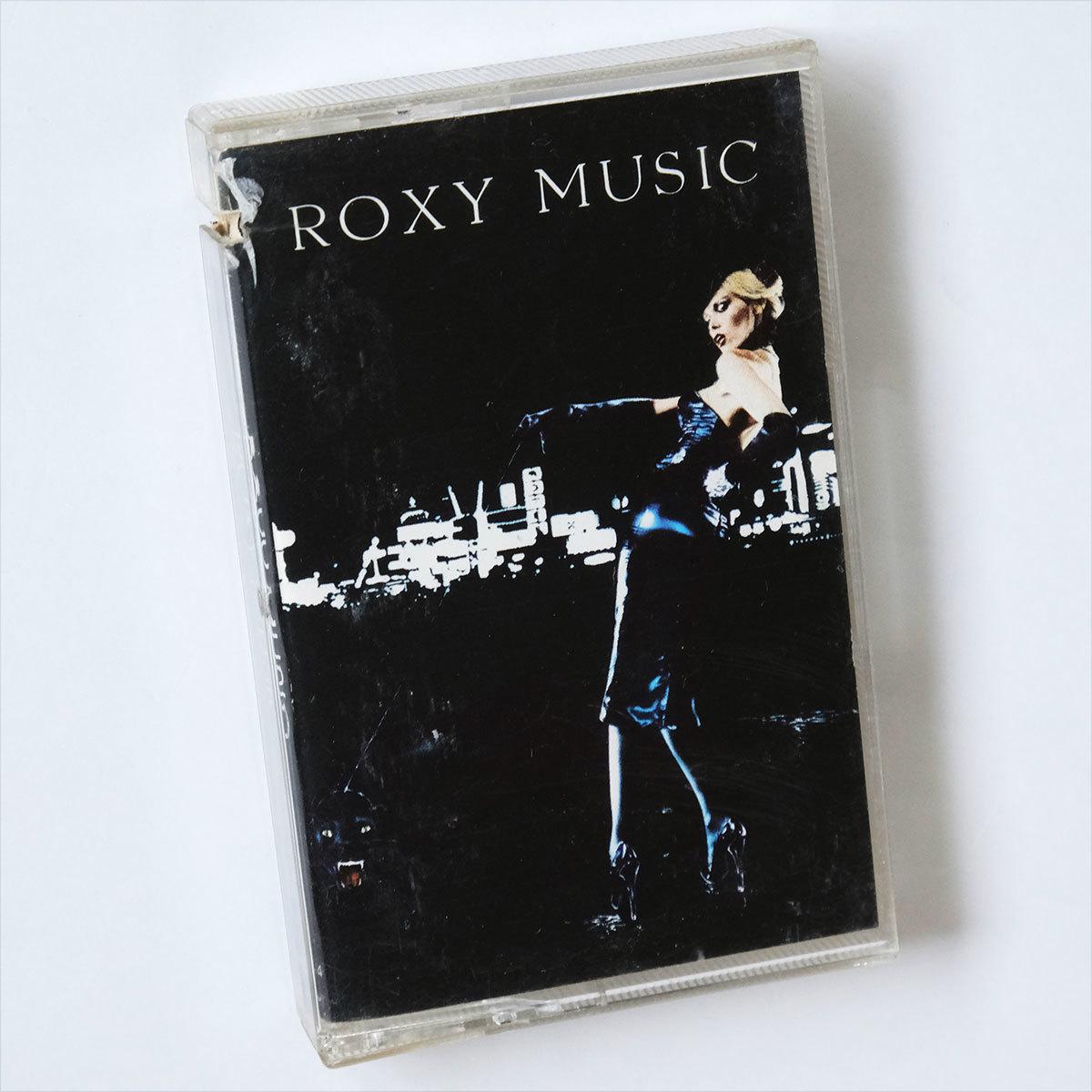 《US版カセットテープ》Roxy Music●For Your Pleasure●ロキシー ミュージック●フォー ユア プレジャー_画像1