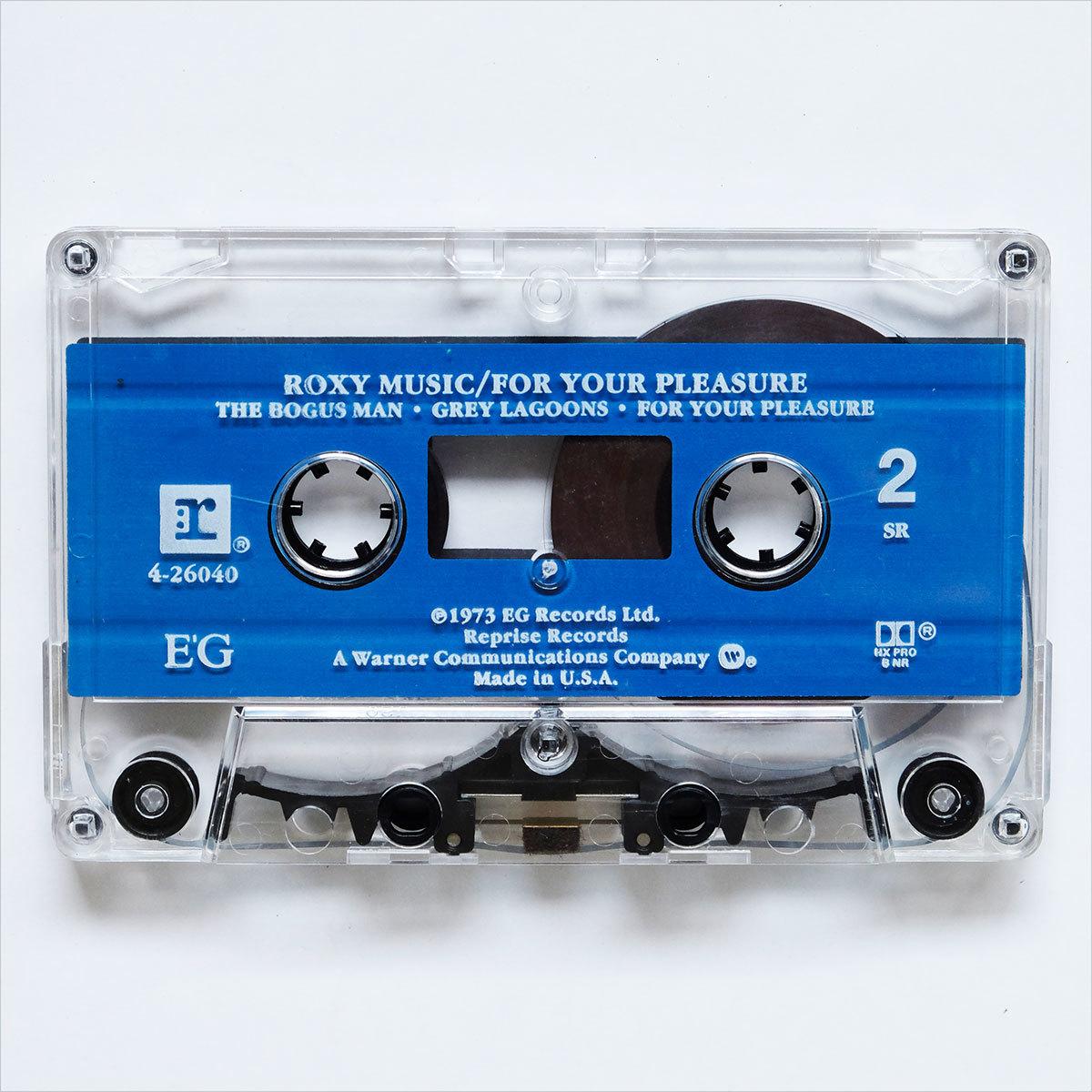 《US版カセットテープ》Roxy Music●For Your Pleasure●ロキシー ミュージック●フォー ユア プレジャー_画像6