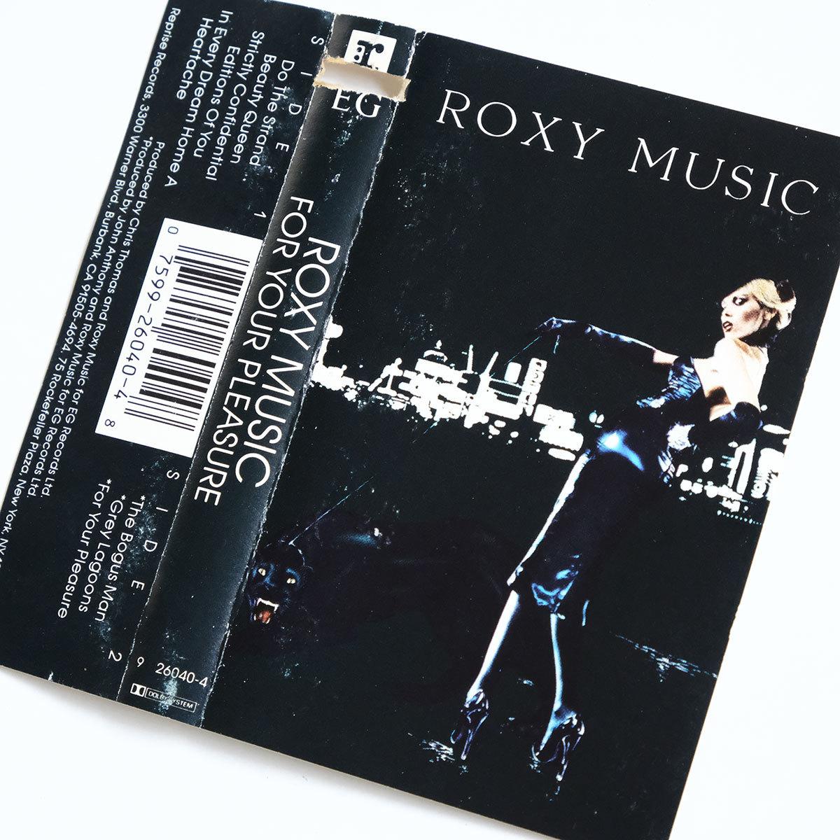 《US版カセットテープ》Roxy Music●For Your Pleasure●ロキシー ミュージック●フォー ユア プレジャー_画像7