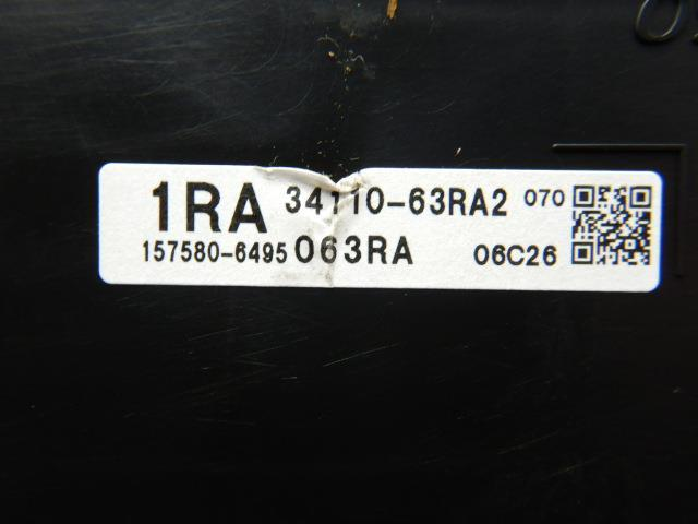 ワゴンR MH55S スピードメーター 34100-63RB0 デンソー 157580-6495 2,476km 送料無料!_画像4