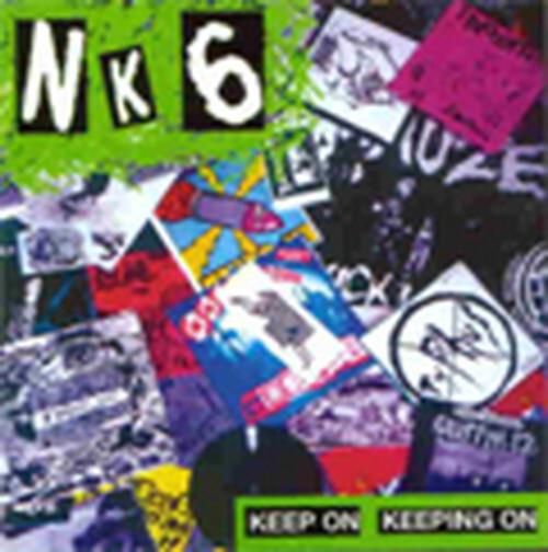 ※中古CD NK6/KEEP ON KEEPING ON 2001年作品1st 東京ハードコアパンク GAUZEガーゼ ハンマー VIVISICK SYSTEMATIC DEATH THINK AGAIN_画像1