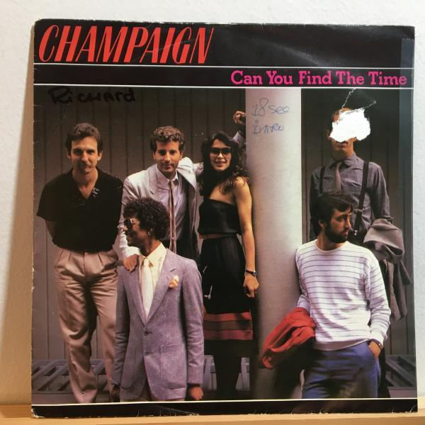 ☆Champaign/Can You Find The Time☆MELLOW SOUL!UK・蘭のみ!7inch 45_画像1