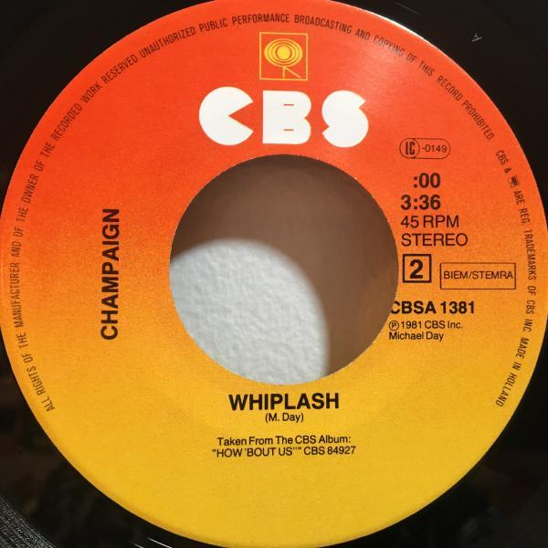 ☆Champaign/Can You Find The Time☆MELLOW SOUL!UK・蘭のみ!7inch 45_画像3