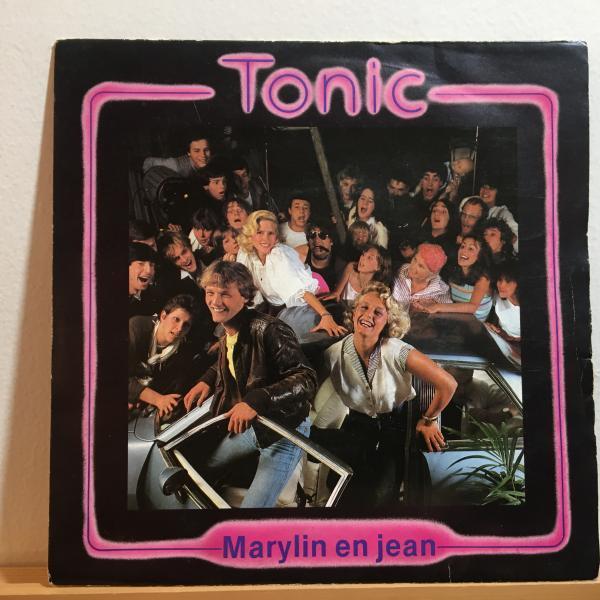 ☆Tonic/Marylin En Jean☆ベルギー産SYNTH POP!7inch 45_画像1