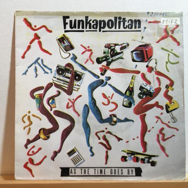 ☆Funkapolitan/As The Time Goes By☆SADAR BAHAR!KILLER UK JAZZ FUNK!7inch 45_画像1