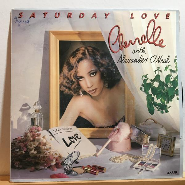 ☆Cherrelle With Alexander O'Neal/Saturday Love☆R&B NEW JACK SWING名曲!風見律子 ネタ 7inch 45_画像1