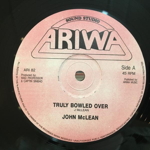 ★John McLean/Truly Bowled Over★LOVERS ROCK!_画像1