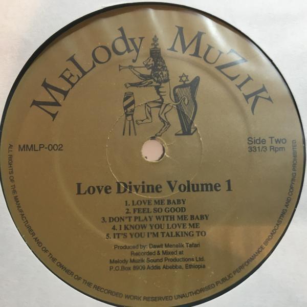 ★Melody Muzik Presents/Love Divine Volume 1★レアマイナーUK LOVERSコンピ!_画像3