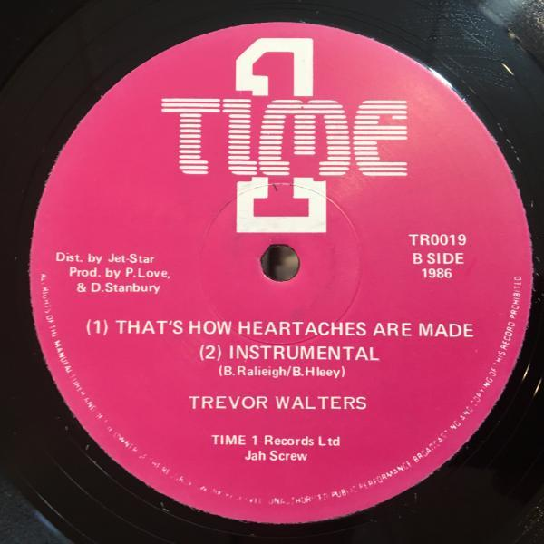 ★Trevor Walters/That's How Heartaches Are Made★LOVERS ROCK!名曲カバー!_画像2