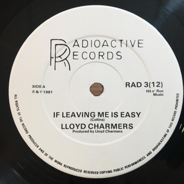 ★Lloyd Charmers/If Leaving Me Is Easy★鬼甘メロウLOVERS & SPACEY DUB!_画像1