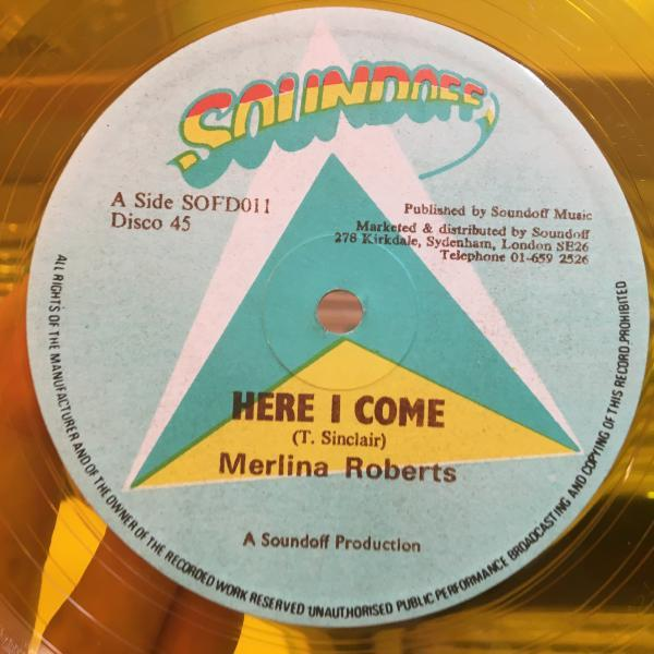 ★Merlina Roberts/Here I Come★スペイシーDUB!LOVERS!_画像1