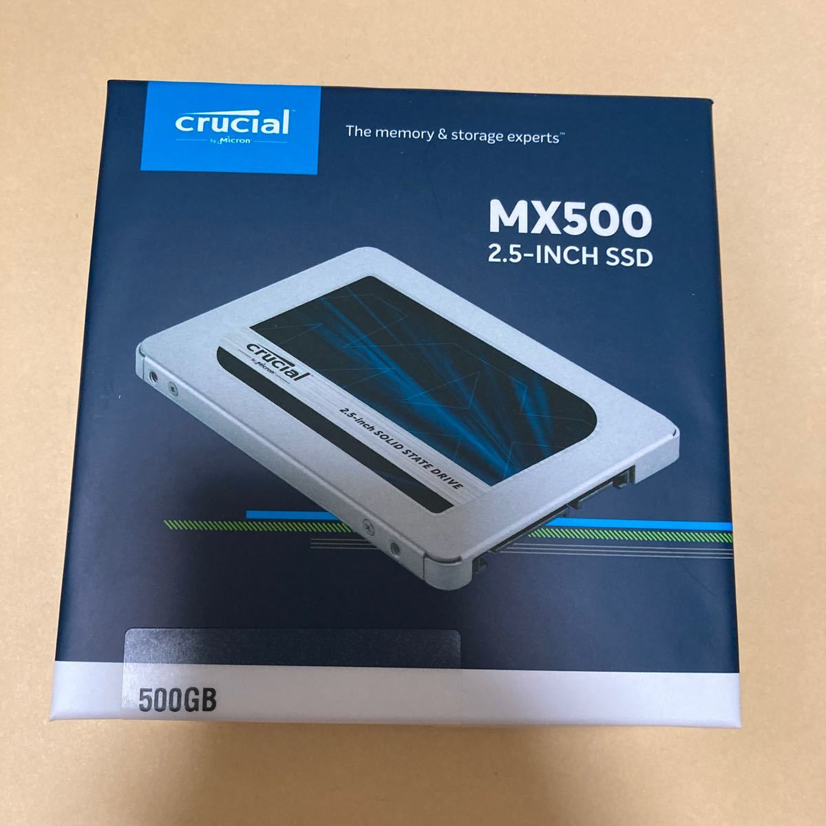 Crucial MX500 SSD 2.5インチ 500GB CT500MX500SSD1 7mm 内蔵SSD SATA 6Gbps