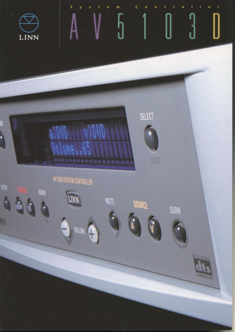 LINN AV5103Dのカタログ 管2648_画像1