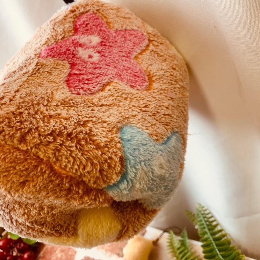 新品 小動物 ハウス ケージ おしゃれ 寒さ対策 体温 洗える 匂い 対策 モモンガ リス ハムスター 吊り下げ インテリア 星 ブラウン S689_画像4