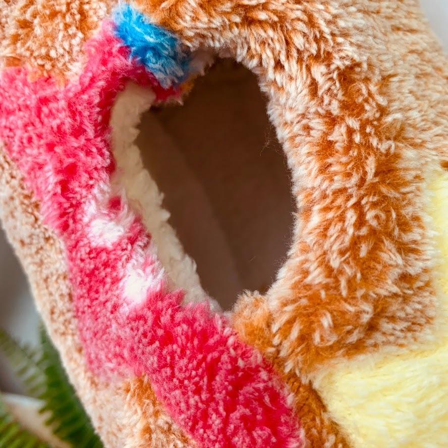 新品 小動物 ハウス ケージ おしゃれ 寒さ対策 体温 洗える 匂い 対策 モモンガ リス ハムスター 吊り下げ インテリア 星 ブラウン S689_画像5