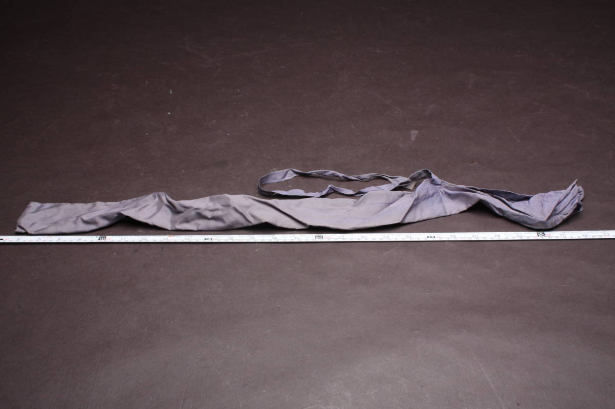 O3584 コレクター放出品 日本刀 保管用 刀 袋 88cm 7cm 装具 携帯用 竹刀 模擬刀 模造刀 短刀 脇差 太刀 長刀_画像2