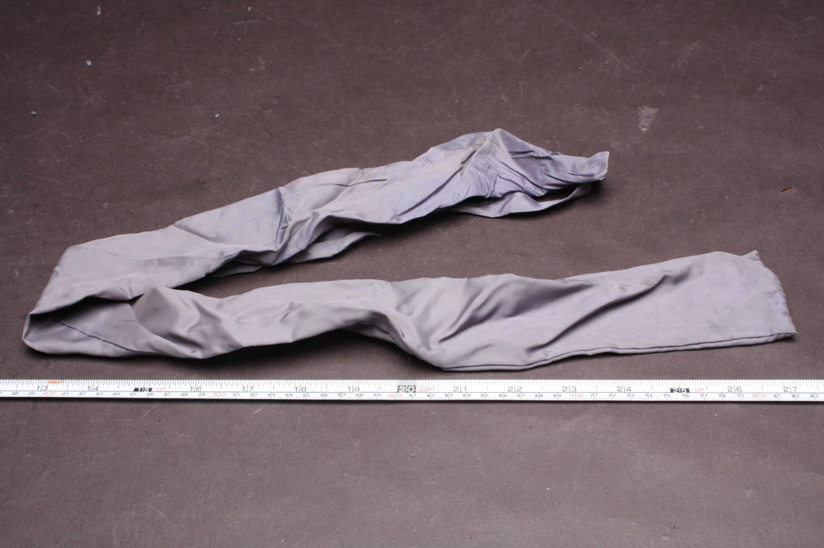 O3584 コレクター放出品 日本刀 保管用 刀 袋 88cm 7cm 装具 携帯用 竹刀 模擬刀 模造刀 短刀 脇差 太刀 長刀_画像3