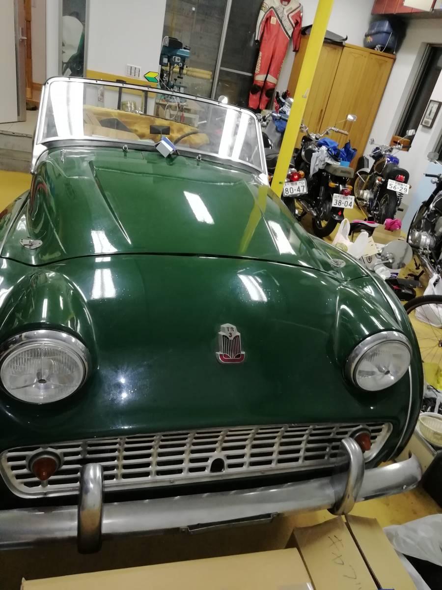 トライアンフ Triumph TR3A 書類付き レストア用 検索用:オースティン、MG、ロータ