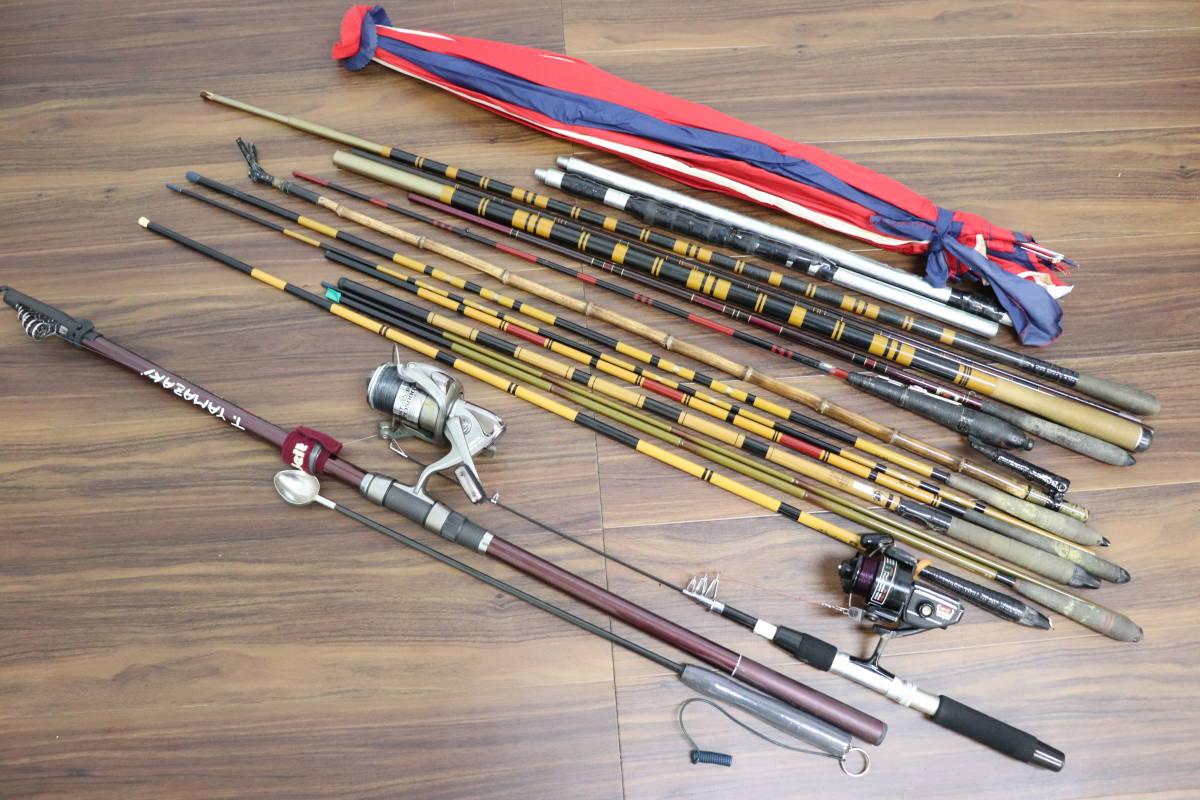 【行董】釣り竿 ロッド まとめ 川釣り 海釣り 淡水 リール DAIWA 磯 AF059ABF99