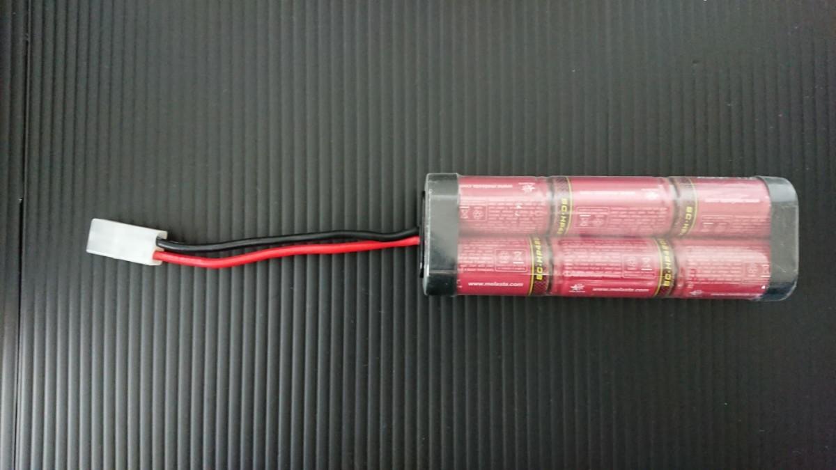 ハイテック X1 NANO/ニッケル水素バッテリーセット/ドリフトタイヤ4本