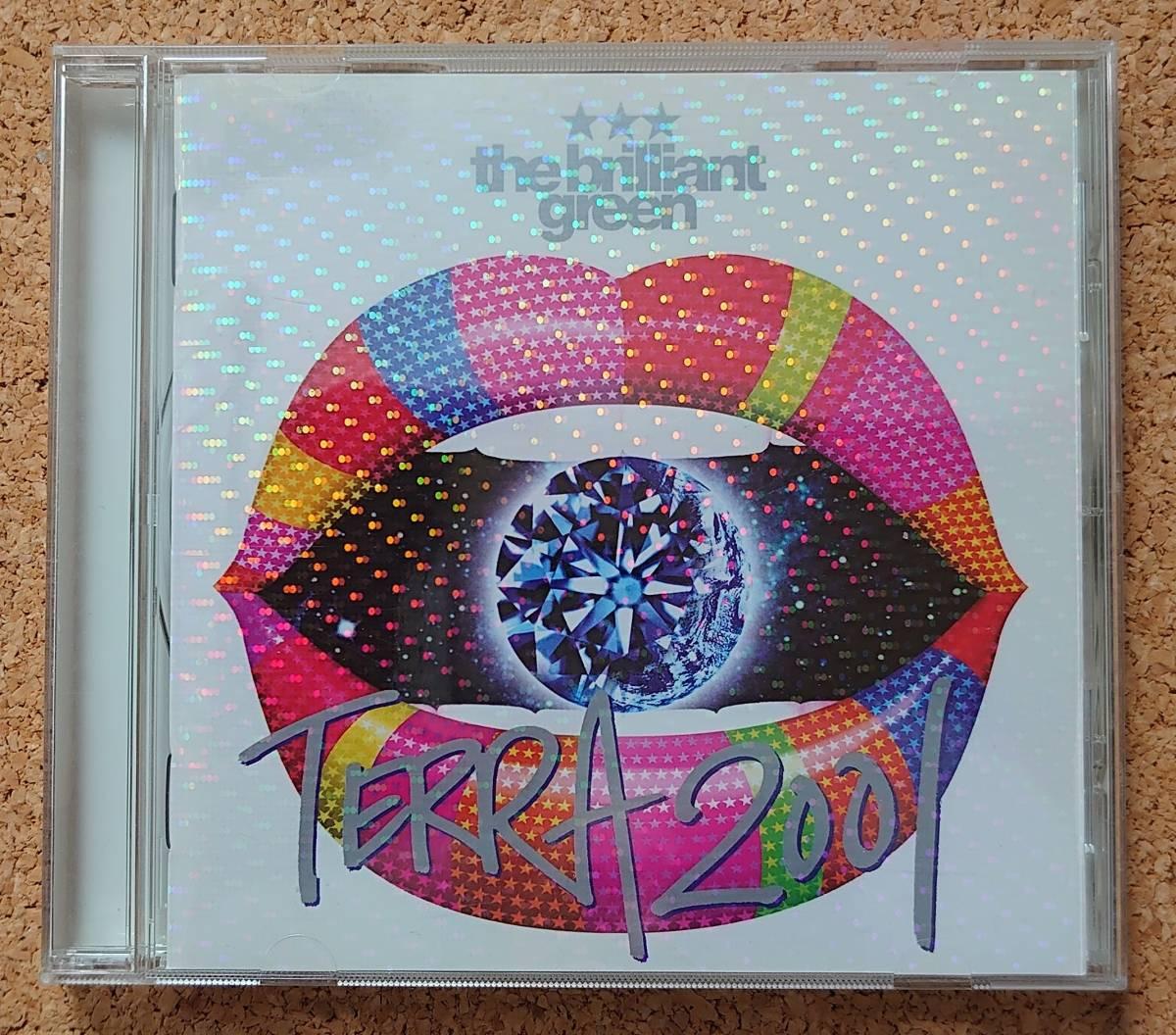 【美品】CD 『TERRA2001』the brilliant green 2ndアルバム_画像1