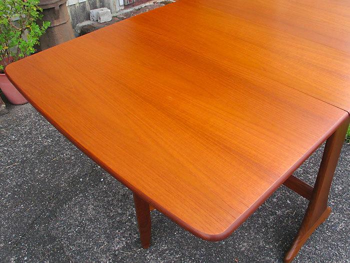 G-plan ドロップリーフテーブル イギリス製アンティーク・ヴィンテージ家具 1970~1980年代_画像3