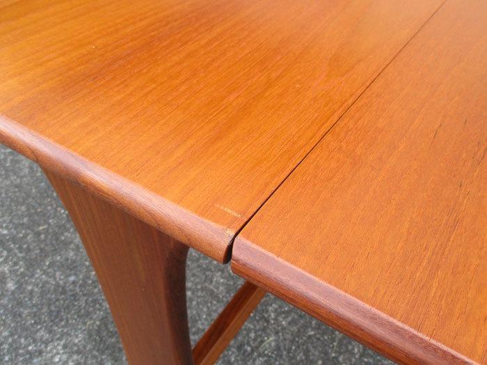 G-plan ドロップリーフテーブル イギリス製アンティーク・ヴィンテージ家具 1970~1980年代_画像7
