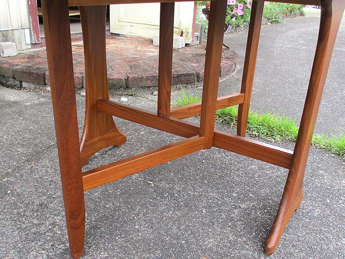 G-plan ドロップリーフテーブル イギリス製アンティーク・ヴィンテージ家具 1970~1980年代_画像10