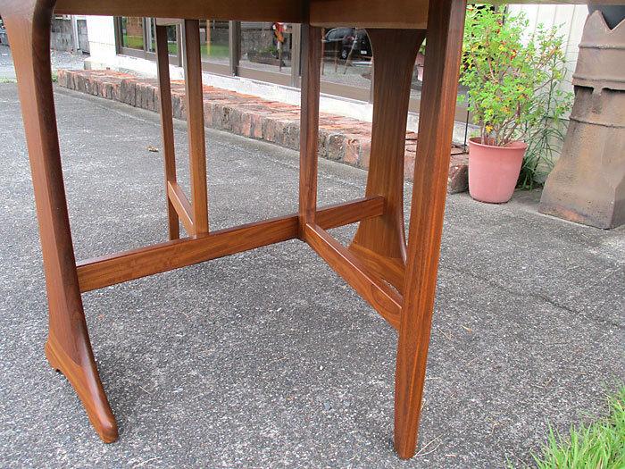 G-plan ドロップリーフテーブル イギリス製アンティーク・ヴィンテージ家具 1970~1980年代_画像9