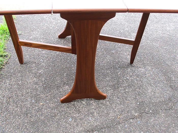 G-plan ドロップリーフテーブル イギリス製アンティーク・ヴィンテージ家具 1970~1980年代_画像8