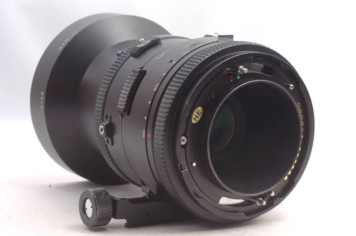 ★ 現状品 ★ 希少 ★ マミヤ セコール シフト Mamiya-Sekor Shift Z 75mm f4.5 W RZ67 中判カメラ用 単焦点 レンズ_画像3
