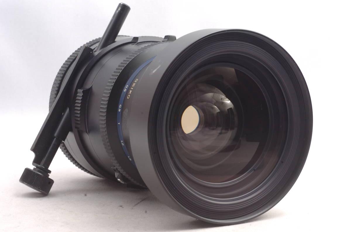 ★ 現状品 ★ 希少 ★ マミヤ セコール シフト Mamiya-Sekor Shift Z 75mm f4.5 W RZ67 中判カメラ用 単焦点 レンズ_画像5