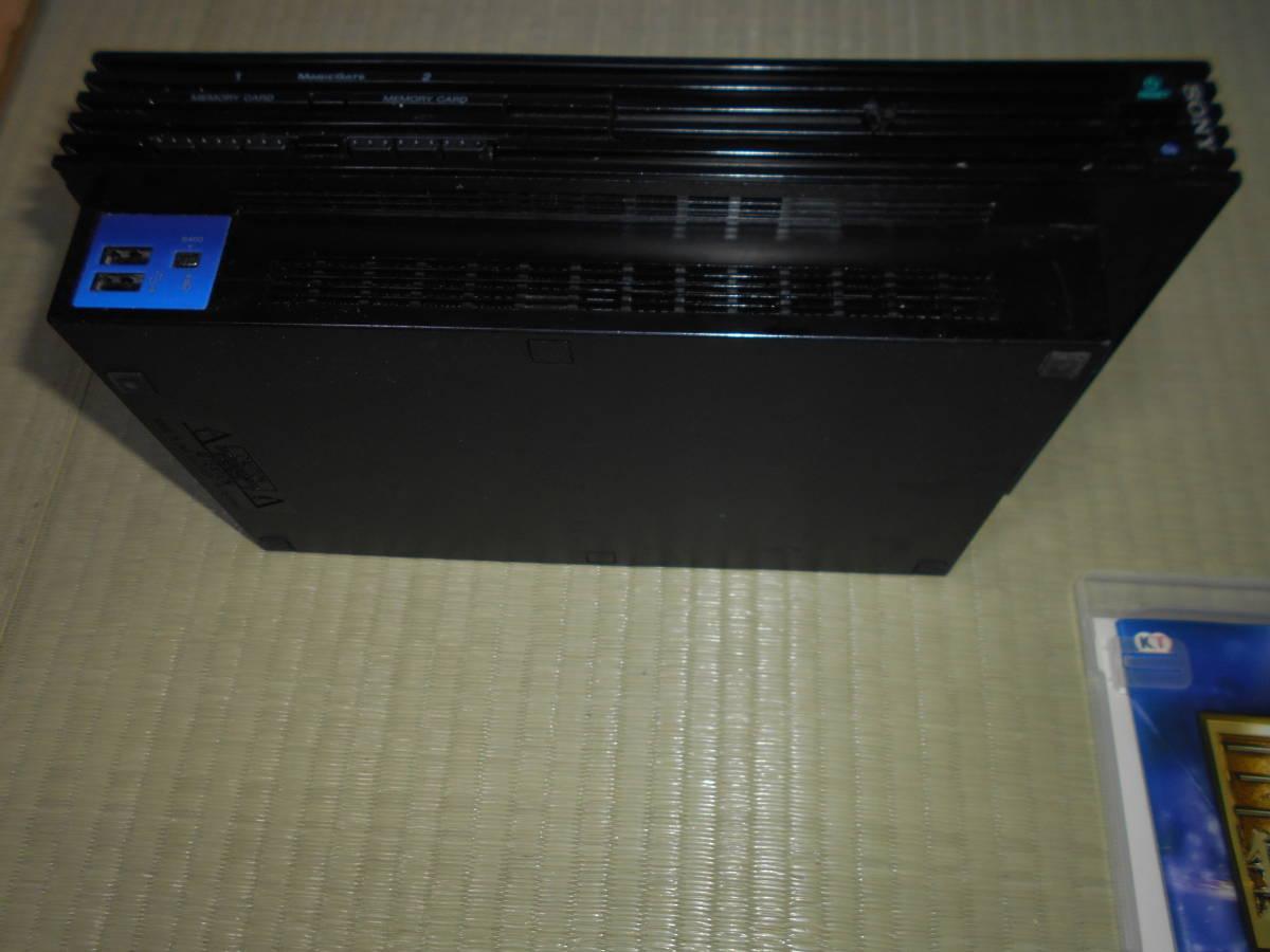 ジャンク動作未確認 PlayStation 2 (SCPH-30000) ソフト8枚  鬼武者2 ファイナルファンタジー デビルメイクライ2 テイルズ オブ 2