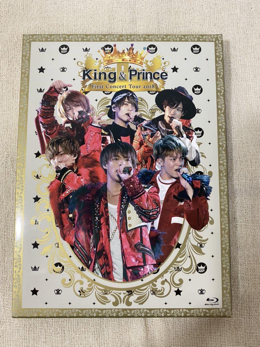King&Prince Blu-ray FIRST CONCERT TOUR 2018 しょ初回限定盤 /美品・視聴確認済み/キンプリ