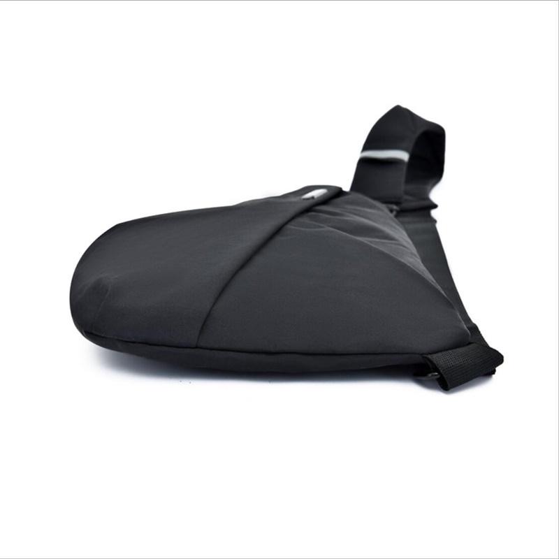 ショルダーバッグ 斜めがけ ボディーバッグ ウエストポーチ 多機能収納 防水 軽量薄型 通学 自転車 登山 サイクリング ウォーキング 黒