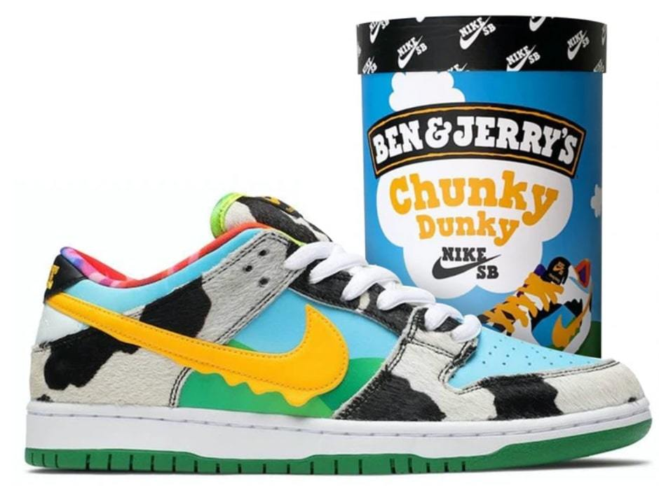 Nike SB Dunk Low Ben & Jerry's Chunky Dunky_画像2