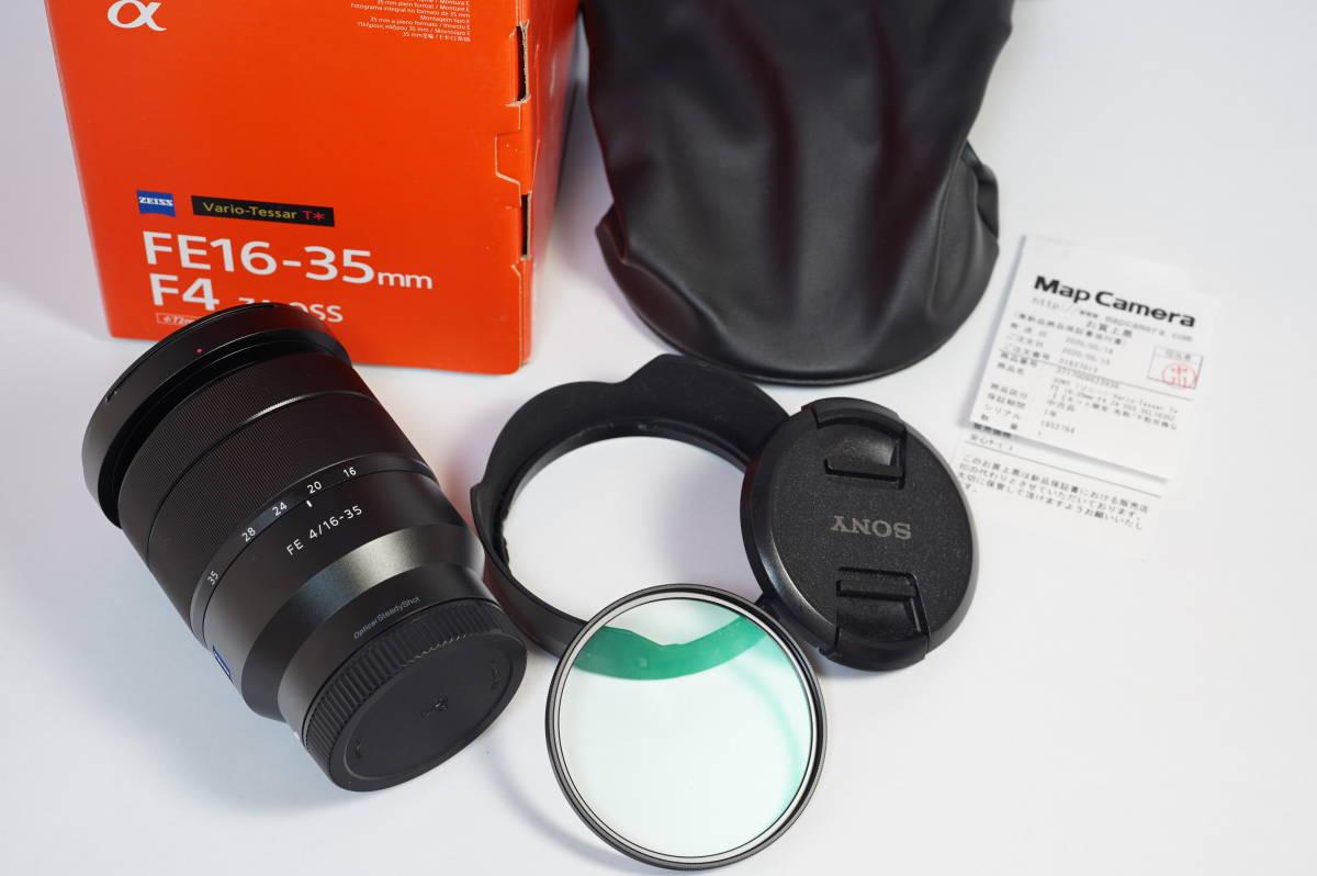 中古美品 Carl Zeiss Vario-Tessar T* FE 16-35mm F4 ZA OSS