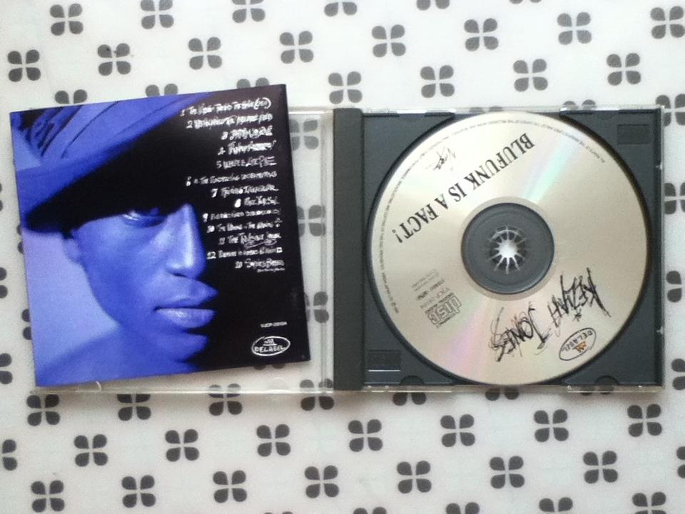 CD KEZIAH JONES「BLUEFUNK IS A FACT!」国内盤解説対訳付き ブルーファンク・イズ・ア・ファクト! キザイア・ジョーンズ _画像2