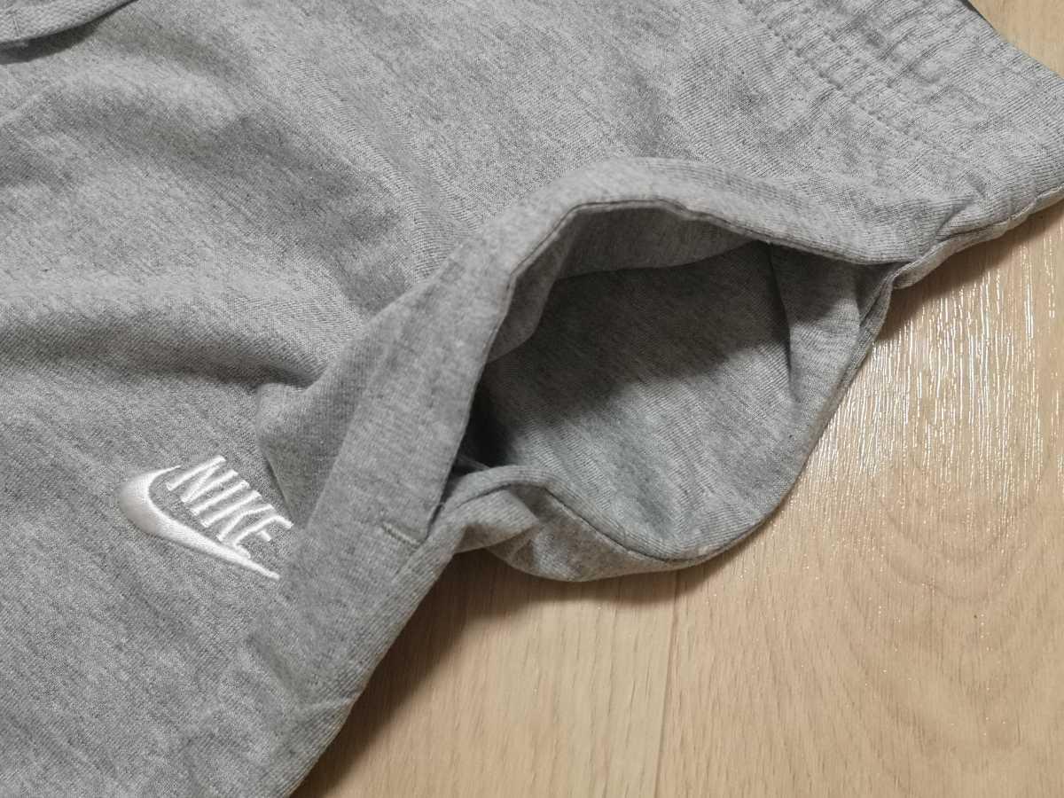Mサイズ NIKE Tシャツ ハーフパンツ 上下セットアップ 新品未使用 ナイキ JUST DO IT 黒ブラック グレー ショートパンツ DRY 半袖 ショーツ_画像7