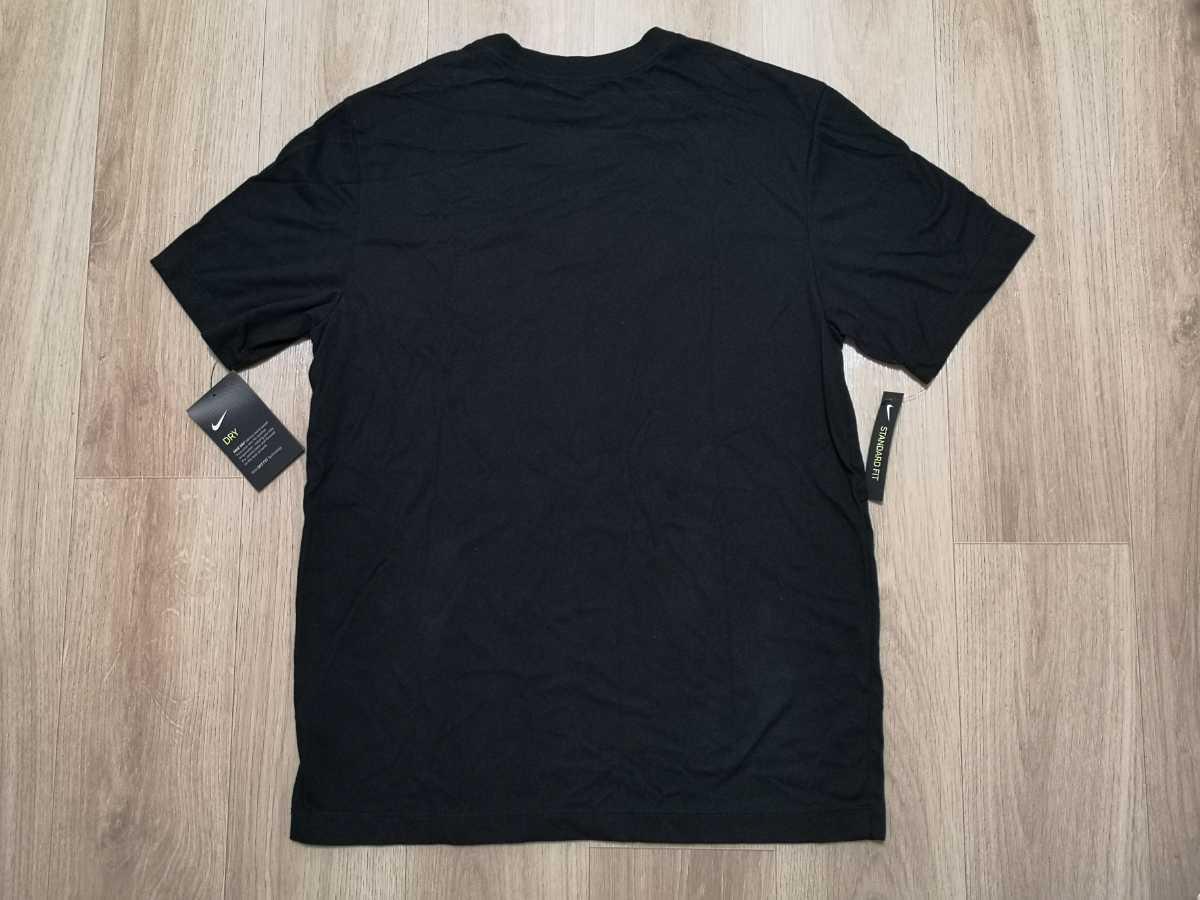 Mサイズ NIKE Tシャツ ハーフパンツ 上下セットアップ 新品未使用 ナイキ JUST DO IT 黒ブラック グレー ショートパンツ DRY 半袖 ショーツ_画像3