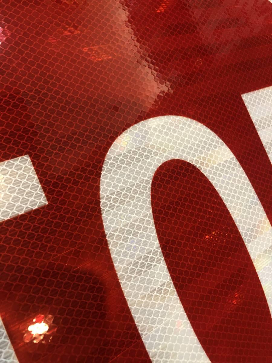 ★新品★アメリカ 道路標識 ビッグサイズ STOP ストップ★SC-4★61cm×61cm ストリートサイン ロードサイン ガレージ 世田谷ベース 看板_画像3