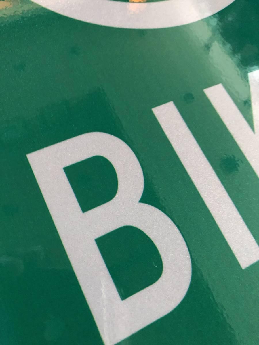 ★新品★アメリカ 道路標識 46cm×61cm BIKE ROUTE 自転車専用★SC-5★看板 ストリートサイン ロードサイン ガレージ 世田谷ベース_画像3