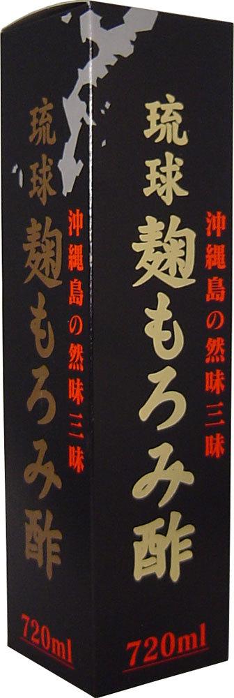 6本 琉球 麹もろみ酢 720mL 沖縄の発酵クエン酸、アミノ酸飲料です。18種類のアミノ酸、クエン酸が豊富に含まれています。_画像2