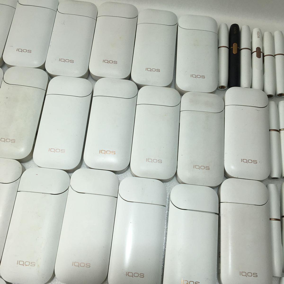 IQOS ジャンク品 まとめ売り アイコス 大量 49点 2.4 plus 電子タバコ 動作未確認_画像5