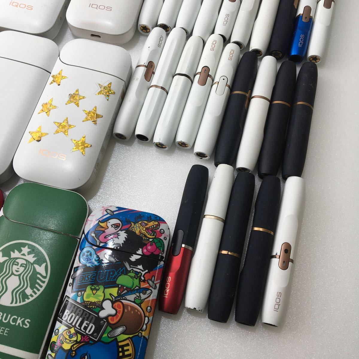 IQOS ジャンク品 まとめ売り アイコス 大量 49点 2.4 plus 電子タバコ 動作未確認_画像7