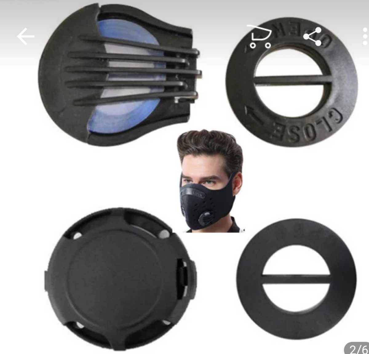 マスク用 パーツ バルブ 10個 ベンチレーション エアー 蒸れない 夏 手作り ハンドメイド エア 国内在庫!日本人 国内発送!_画像3