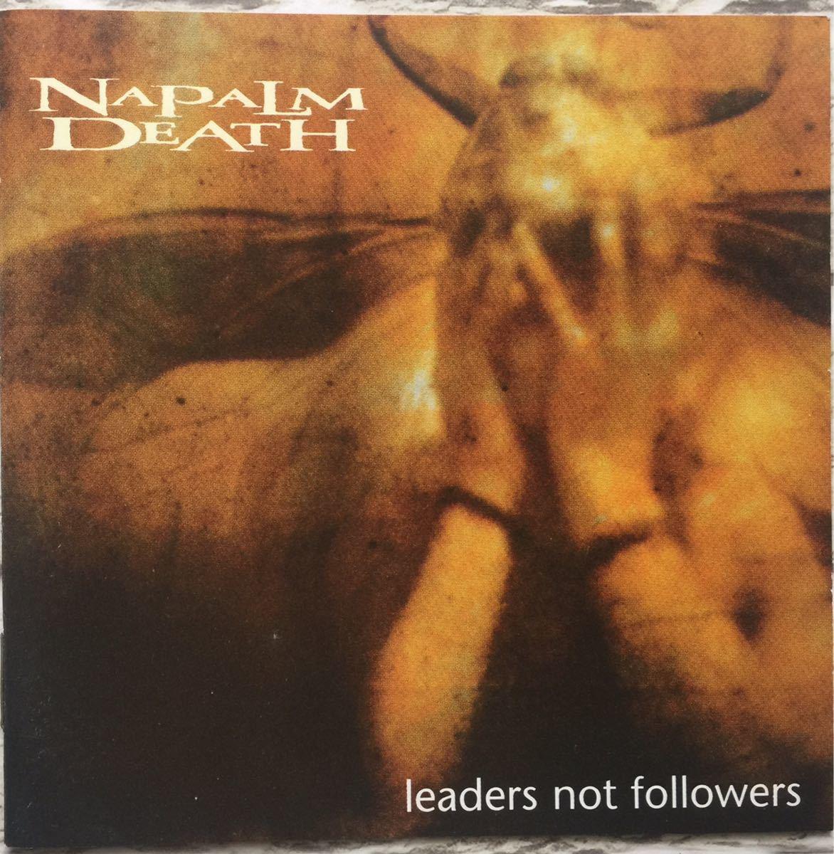【中古】【輸入盤CD】動作未確認 Napalm Death (ナパームデス) Leaders Not Followers デスメタル ヘヴィーメタル グラインドコア_画像1