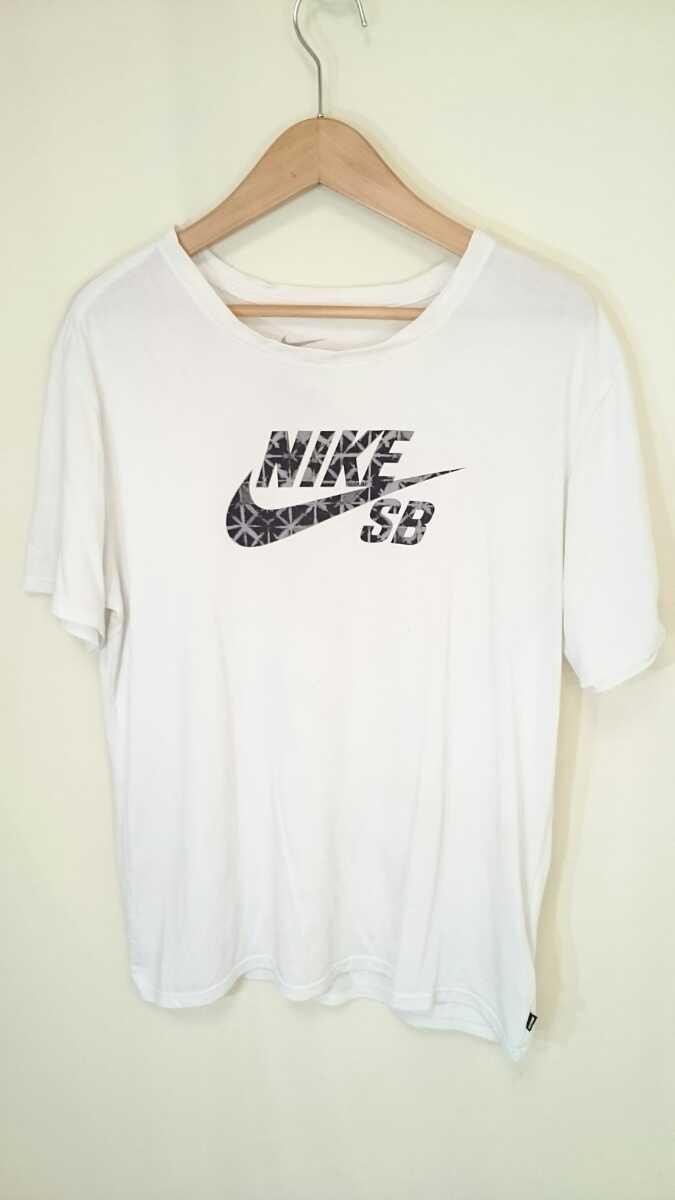 L【NIKE SB/ナイキ】MENS/メンズ 男性用 トップス 半袖 Tシャツ スウォッシュ カジュアル デカロゴ デカプリ ストリート スケートボード